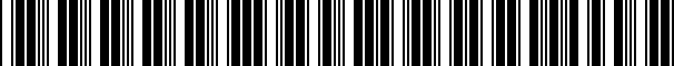 Barcode for 000071801AB5R5