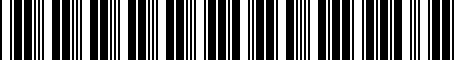 Barcode for 000072548E