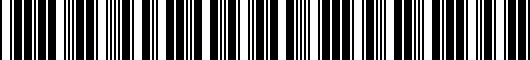 Barcode for 3CN061678041