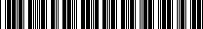 Barcode for 5N0065111
