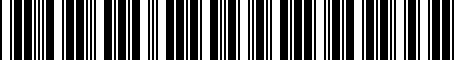 Barcode for DKS051419A