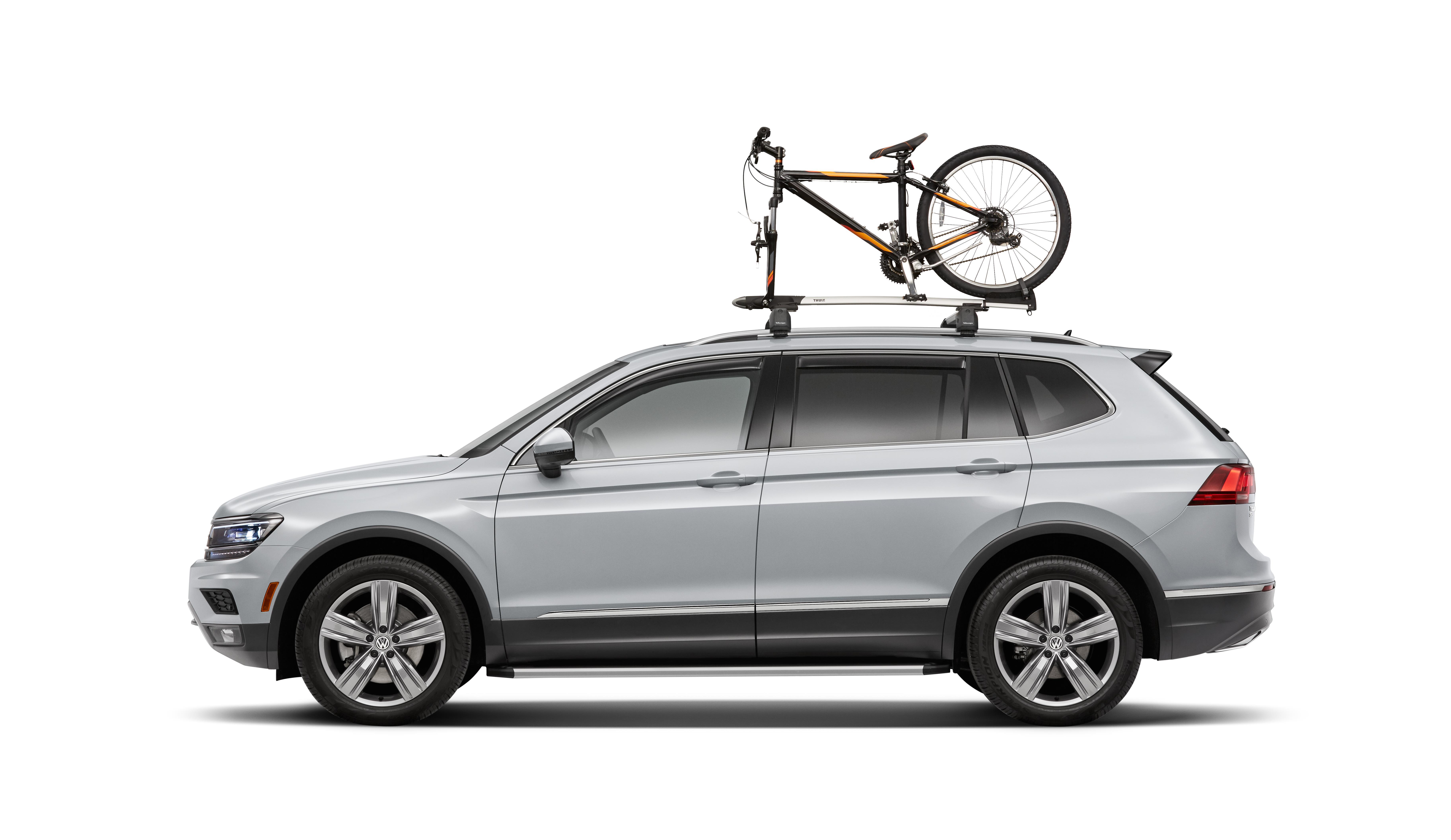volkswagen golf r thule fork mount bike carrier. Black Bedroom Furniture Sets. Home Design Ideas