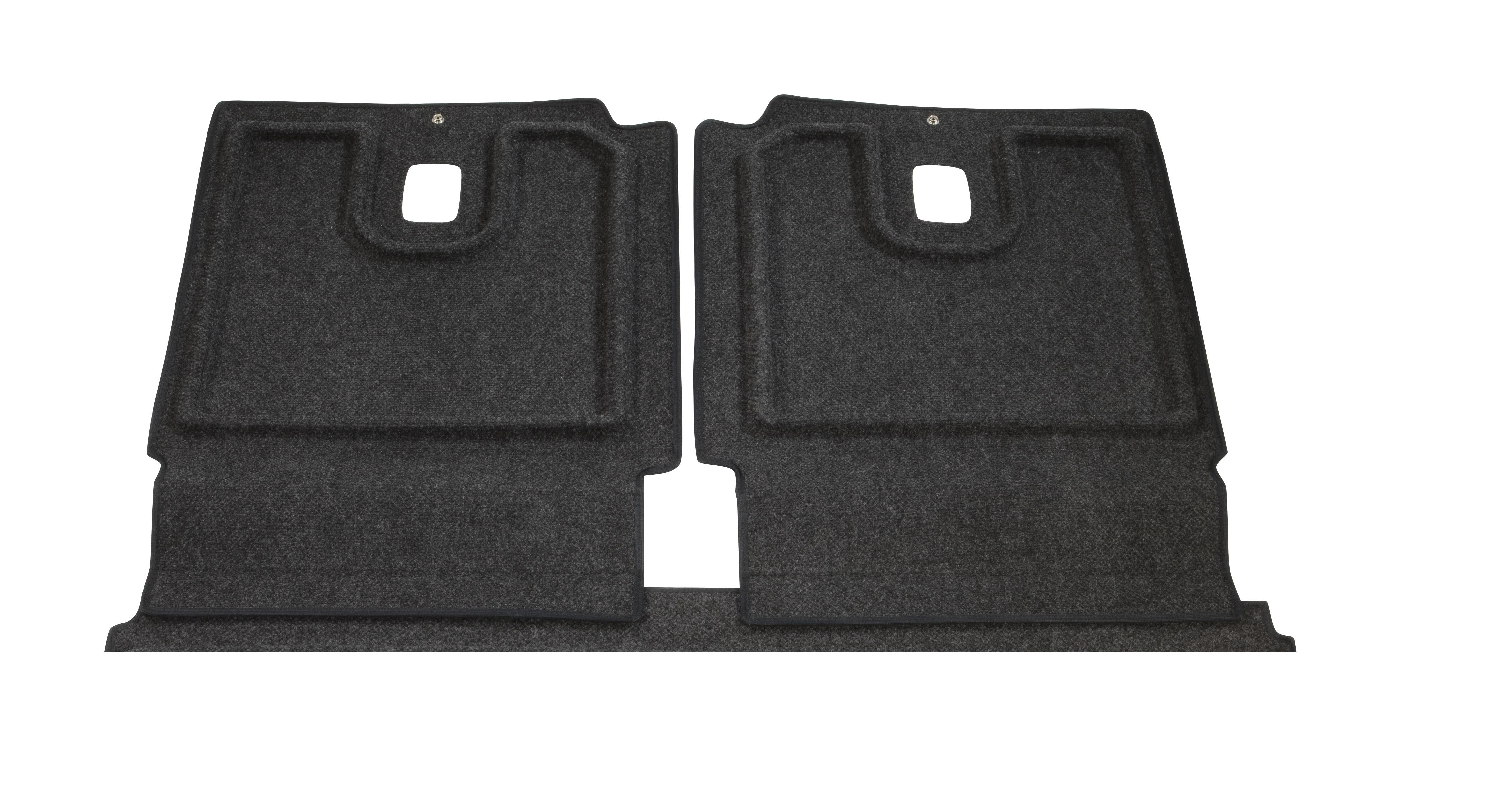 Diagram Heavy Duty Trunk Liner Extended Seat Back Cover - Gray for your Volkswagen