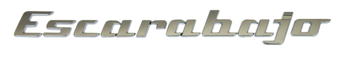 cl volkswagen decklid nickname inscription escarabajo chrome nick names badge