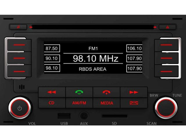 Diagram RMT 100+ MP3 Bluetooth Radio (1JM035157AT) for your Volkswagen Golf