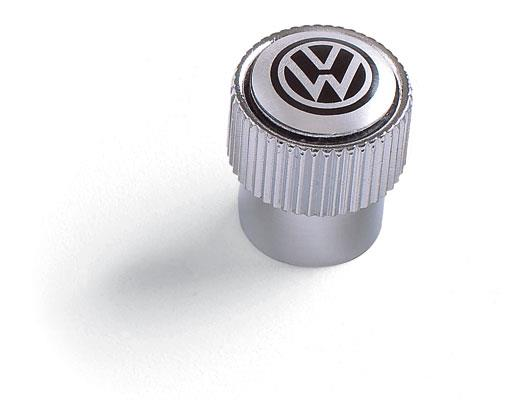 Diagram Valve Stem Caps - Black on Silver (ZVW355005A) for your 1996 Volkswagen Golf