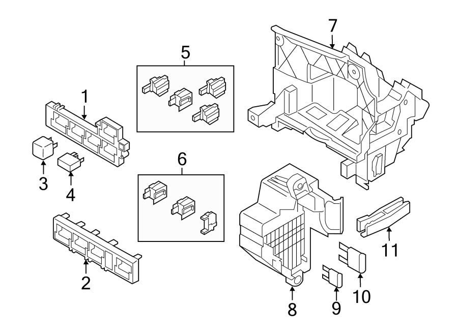volkswagen jetta fuse box passenger compartment wagon. Black Bedroom Furniture Sets. Home Design Ideas