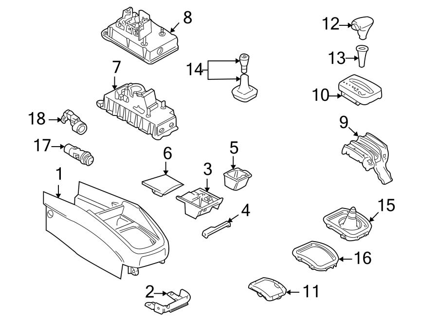 1J0713169A     Volkswagen    Sleeve Shift Knob Transmission
