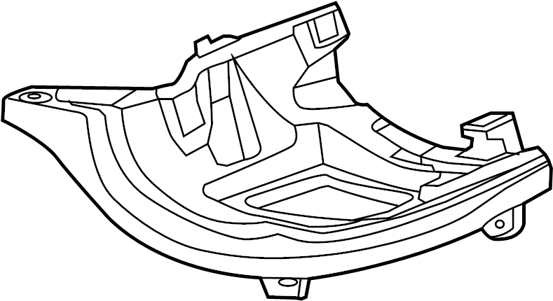 2013 volkswagen beetle convertible bracket