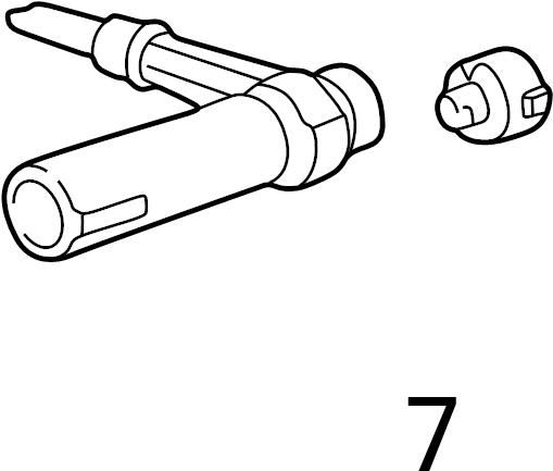 Volkswagen Ignition Lock Cylinder. Ignition