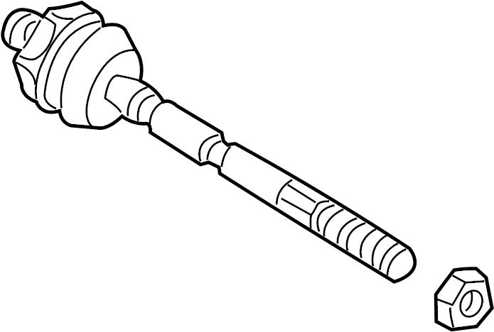 701419804d Volkswagen Tie Rod Tie Rod Assy Eurovan